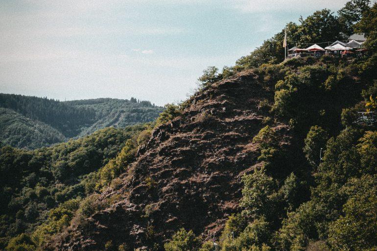 Seilbahn hoch zum Pinner Kreuz Cochem