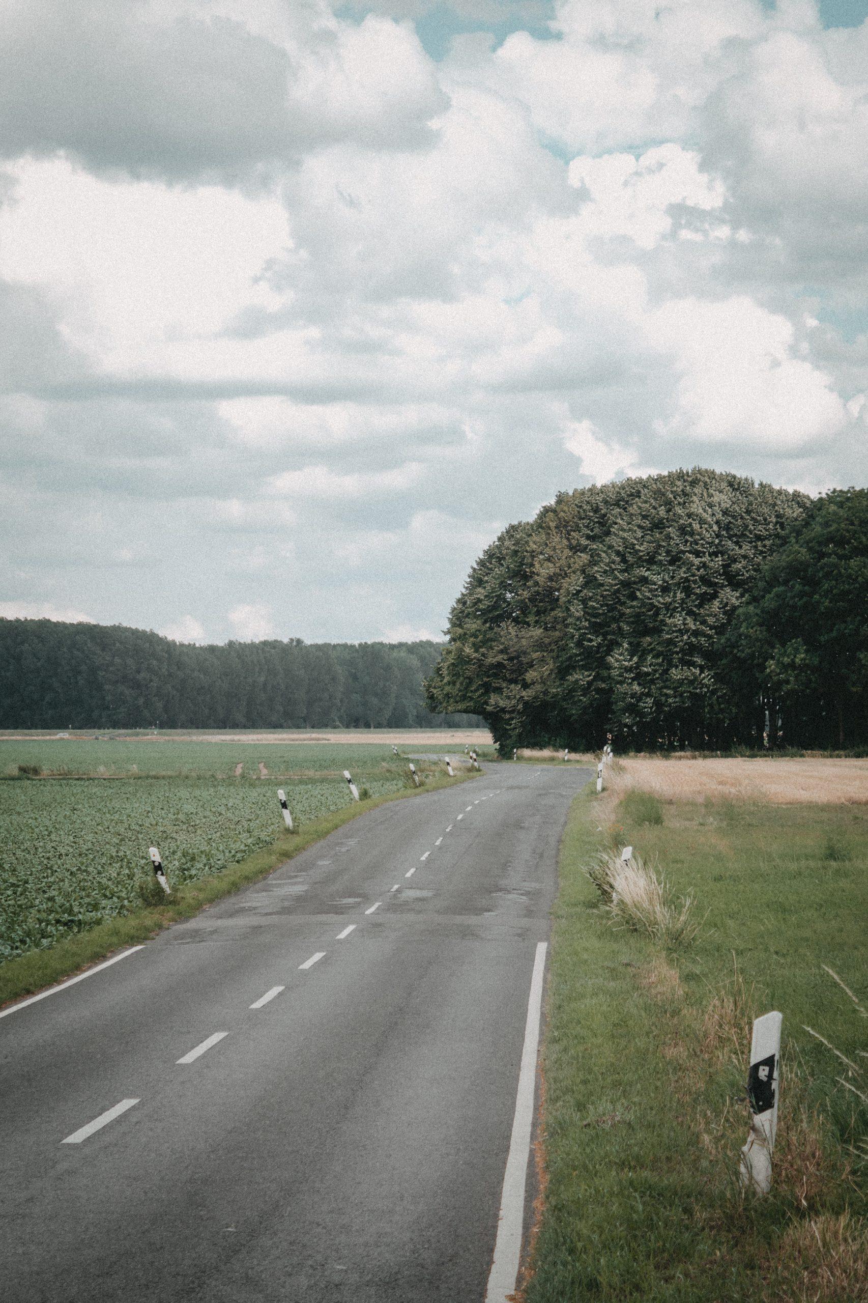 Schnellstraße am Worringen Bruch